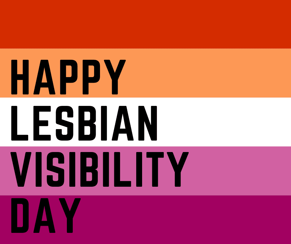 Happy lesbian visibility day FB